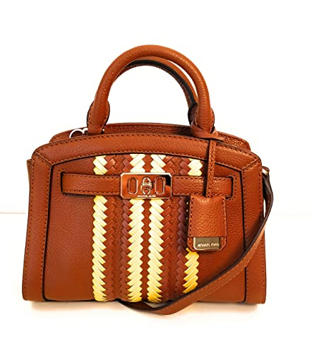 6f4c7dc06607 Michael Kors petit sac épaule karson Luggage Citrus cuir 22x18x8cm neuf
