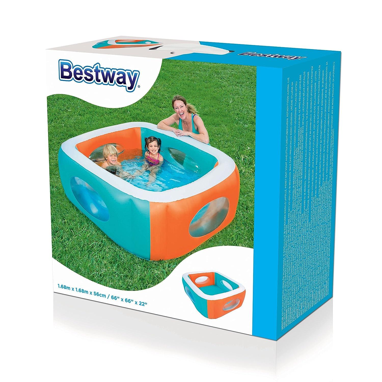 Bestway Planschbecken Schwimmbecken Window Kinderpool Swimmingpool Babypool Pool