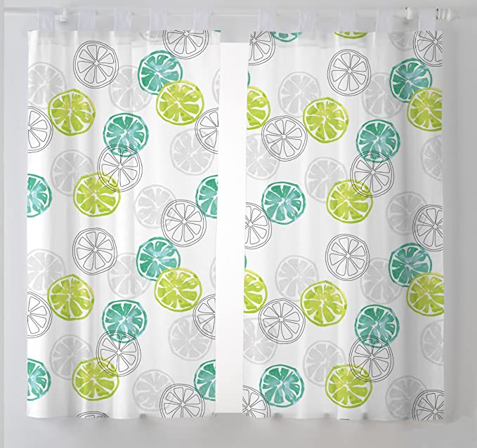 Martina Home Lemon Cortinas Visillo para Cocina