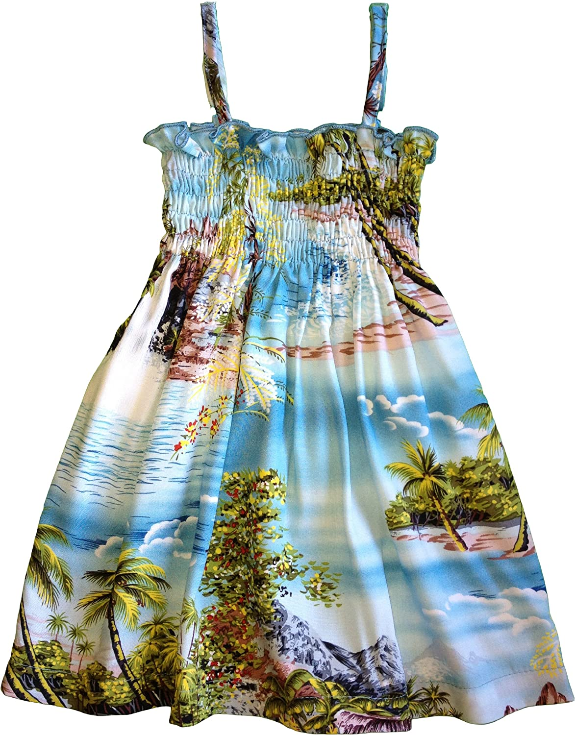 RJC Baby Girls Paradise Island Surf Elastic Tube Top Sundress