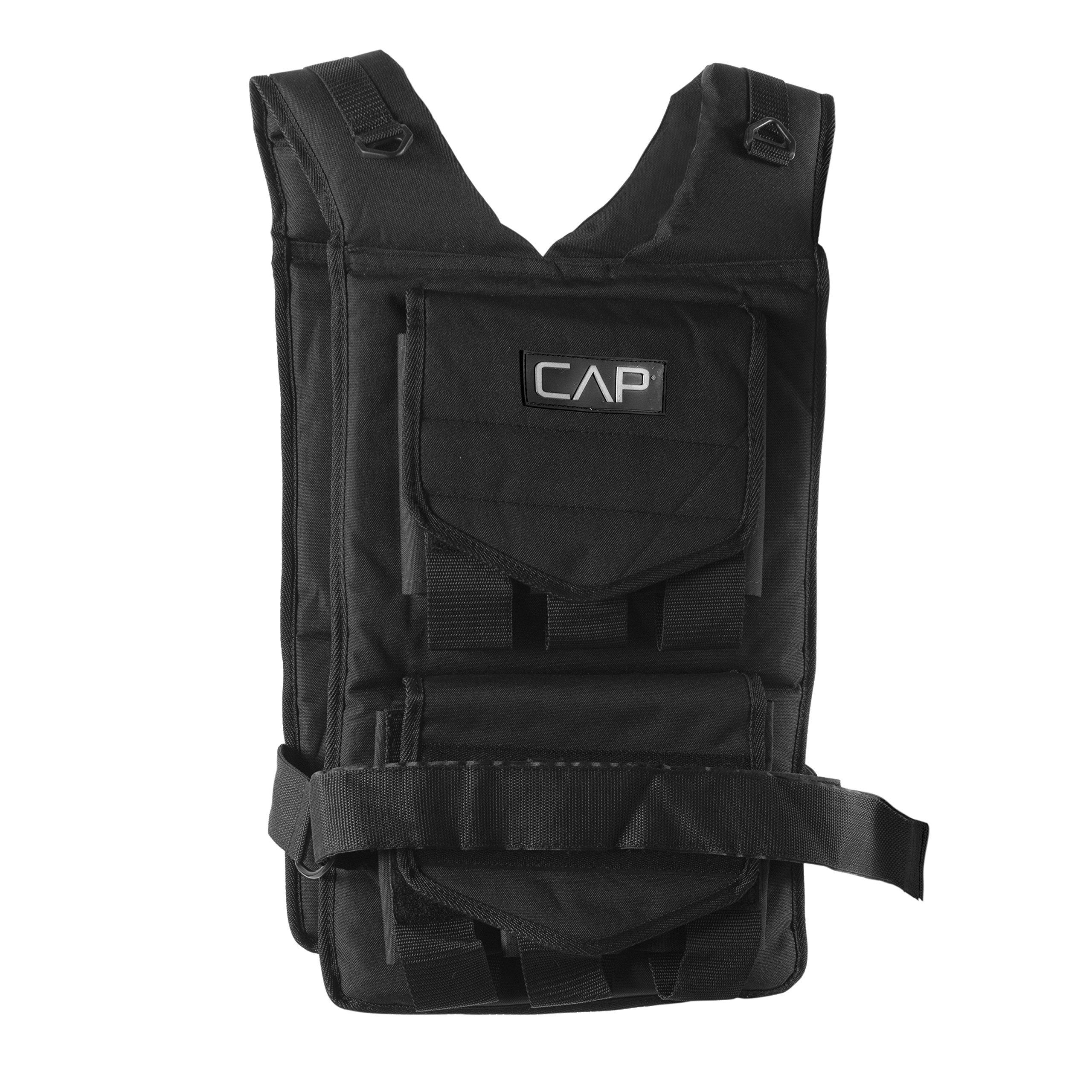 CAP Barbell Adjustable Weighted Vest, 50 lb by CAP Barbell