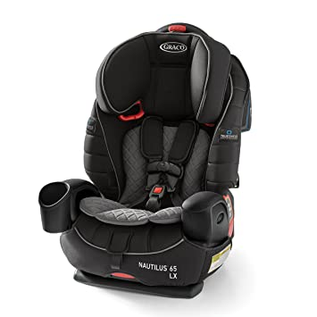3fec3a566 Amazon.com  Graco Nautilus 65 LX 3-in-1 Harness Booster Featuring  TrueShield Technology  Baby