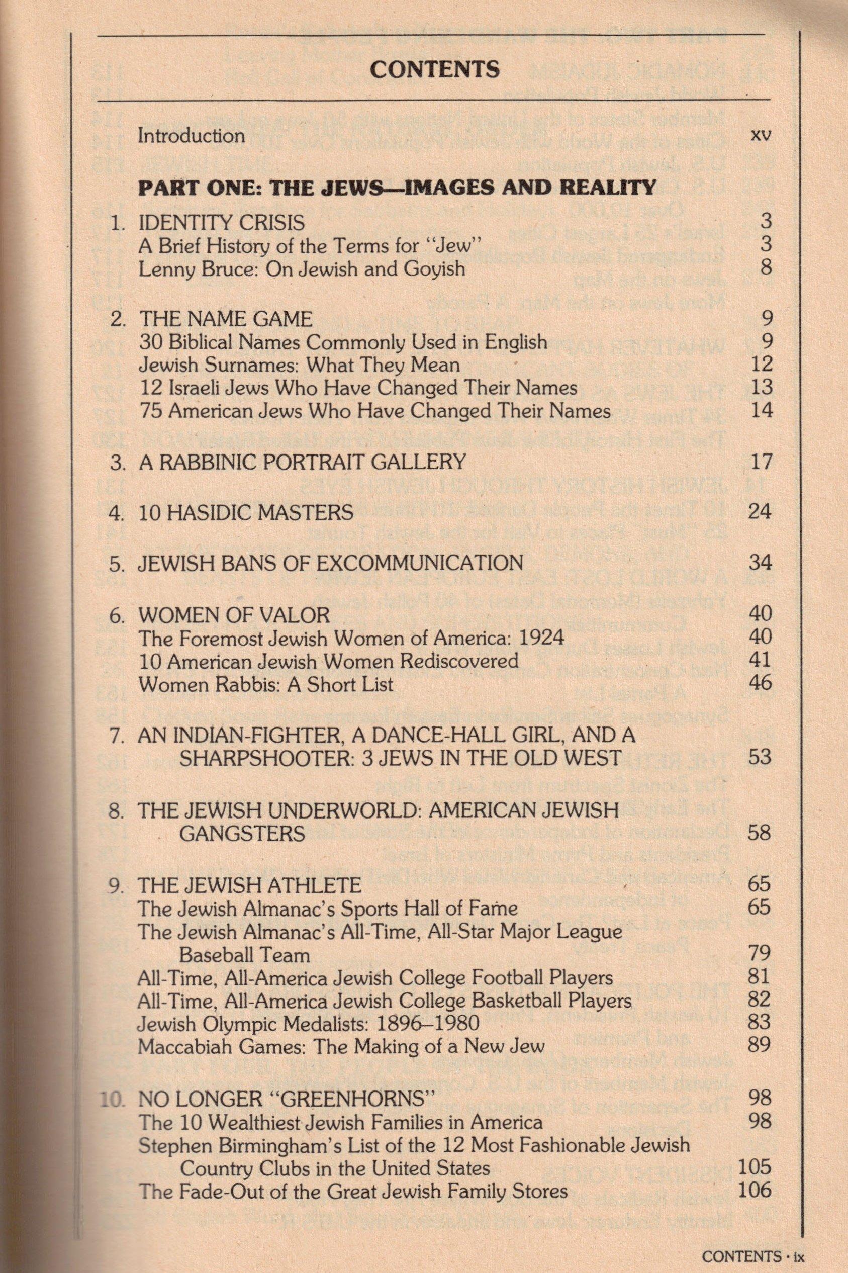 Jewish Almanac: Richard Siegel, Carl Rheins: 9780553012651