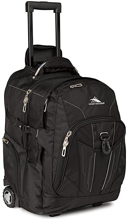 e47ddd6933 Amazon.com  High Sierra XBT Wheeled Laptop Backpack