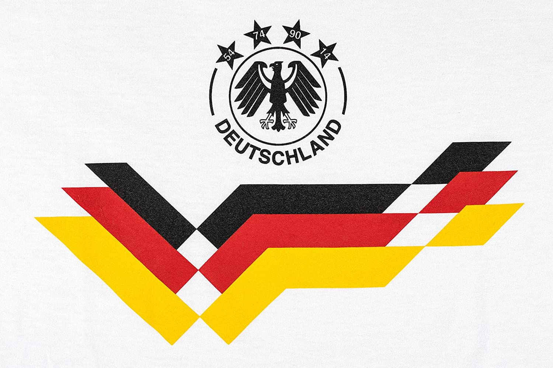 Fu/ßball 2018 WM Fan-Shirt Deutschland f/ür Frauen zur WM