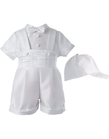 1e711616 Lauren Madison Baby-Boys Newborn Infant Three Piece Short Pant Outfit Set
