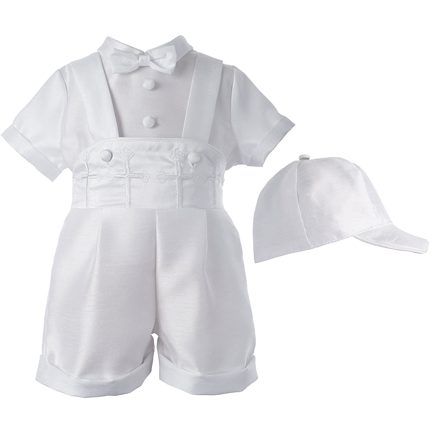 Lauren Madison Baby-Boys Newborn Infant Three Piece Short Pant Outfit Set 1523