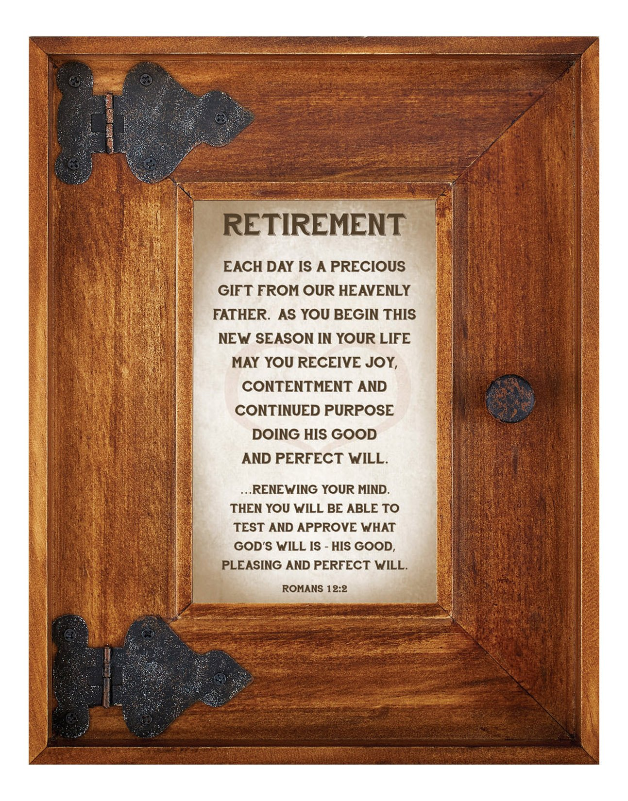 LoveLea Down Home Collection Tabletop Frame, Retirement