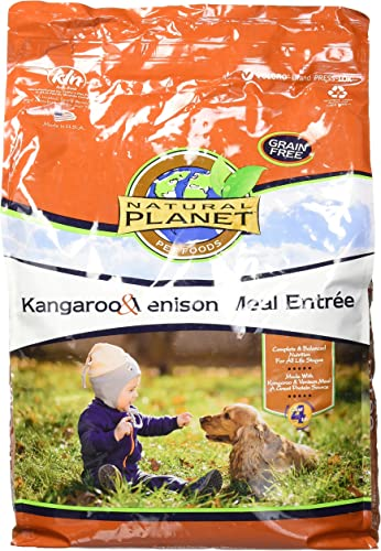 Natural Planet Dog Food-Kangaroo Venison 15Lb