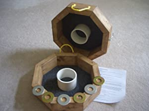 Octagon Washer Pitching / Horseshoes Game