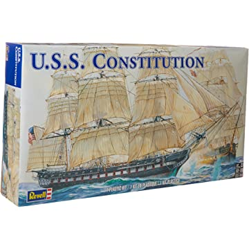 powerful Revell 1:96 USS Constitution
