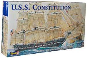 Revell 1:96 USS Constitution Review