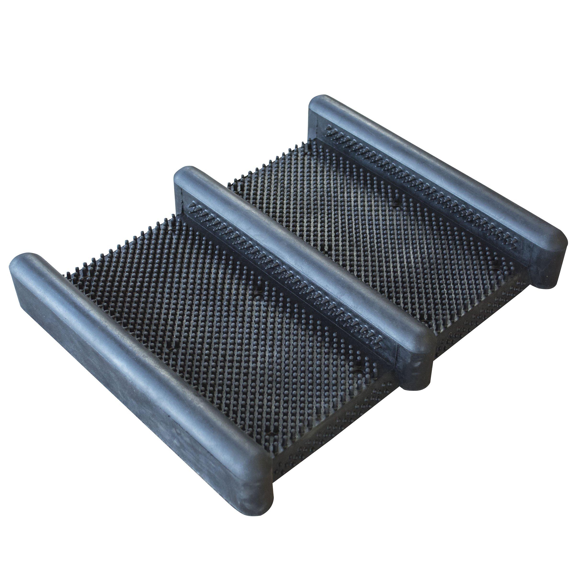 AmeriHome Rubber Boot Scraper Mat