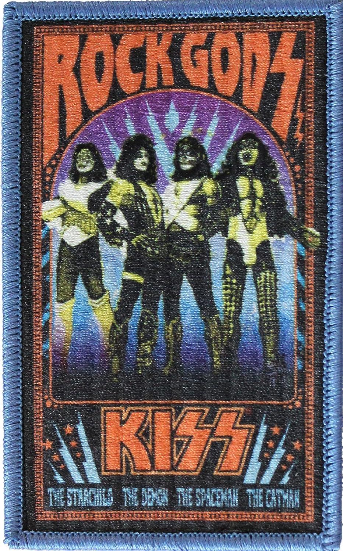 Application Kiss Rock Gods Patch Action Figure