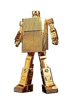 GX-32R Gold Lightan 24-Karat Gold Plating Version - Gold Lightern Soul of Chogokin 5' Action Figure