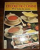 L'école De Cuisine N° 3 Toutes Les Sauces