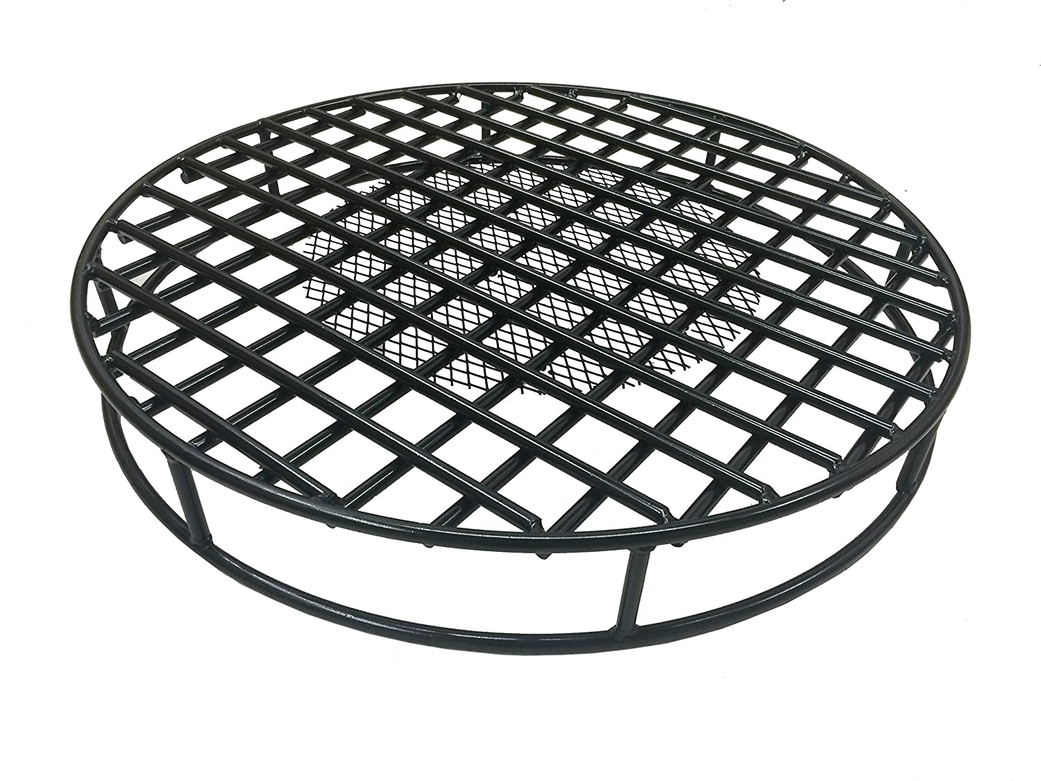 Amazon.com : Walden Fire Pit Grate Round 29.5'' Diameter Premium Heavy Duty  Steel Grate with Ember Catcher for Outdoor Fire Pits : Garden & Outdoor - Amazon.com : Walden Fire Pit Grate Round 29.5'' Diameter Premium
