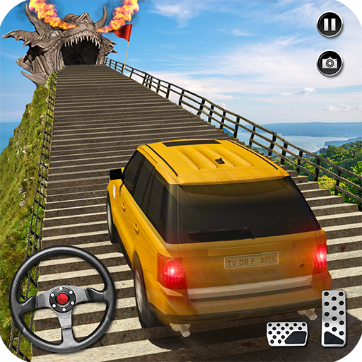 Dragon Road Car Driving Simulator 2018: Cruiser Car Stunt Games Free for Kids (Dragon Games For Kids)