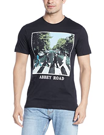 The Beatles By Free Authority Mens T Shirt 8903346567799 BT0EMT1411 A Small Black