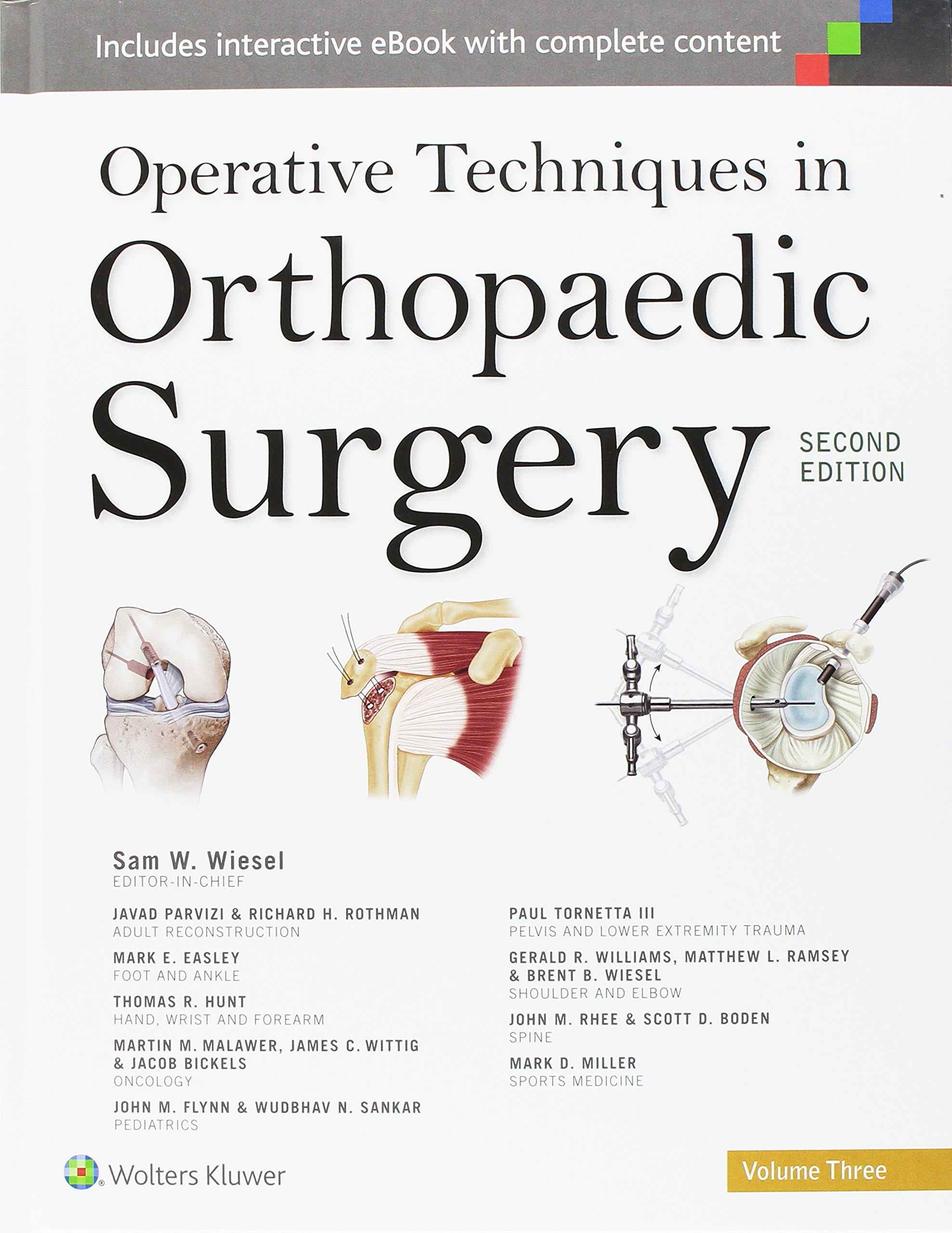 Operative Techniques In Orthopaedic Surgery: Amazon: Samuel W  Wiesel: 9781451193145: Books