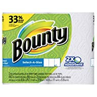 Bounty Select-A-Size Paper Towels, White-2 Pack
