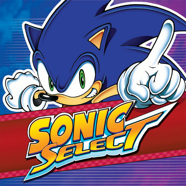 sonic-select-collections-10-book-series