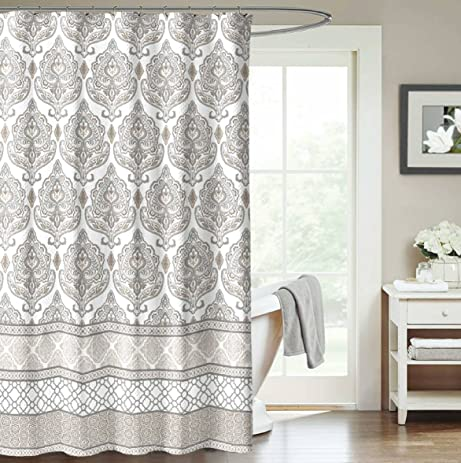 orient excellent shower natural small curtains size the waxed ergonomic design curtain canvas cotton duck
