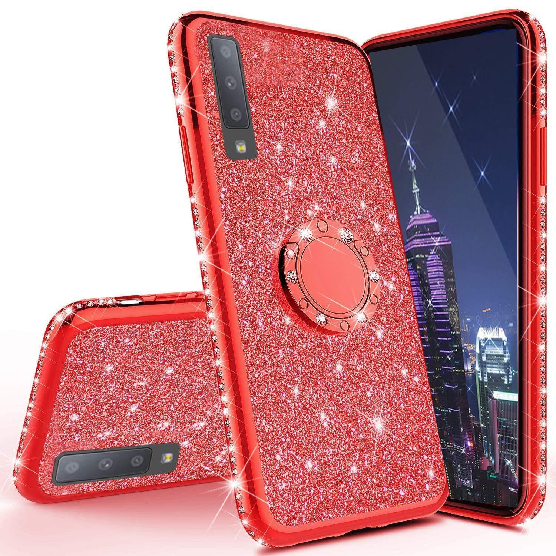 Funda para Samsung Galaxy A70 Glitter ISADENSER [7THTRBML]