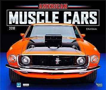 Amazoncom Classic Cars Calendars Deluxe Wall Calendar - Sports cars calendar 2018