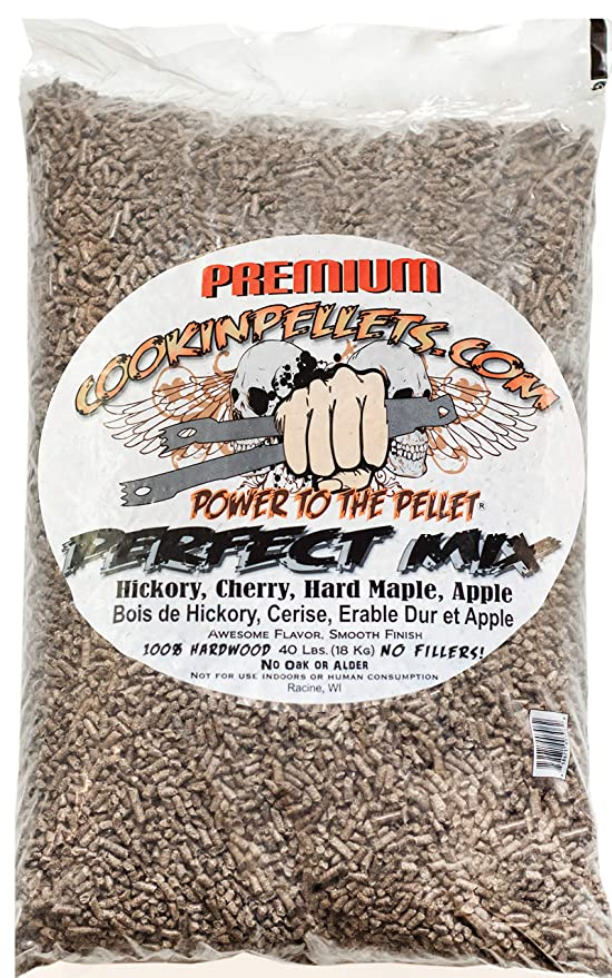 CookinPellets 40PM Perfect Mix – Best All-Purpose Blend