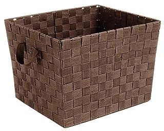woven seagrass baskets with handles decorative storage boxes.htm storage   organization  storage   organization