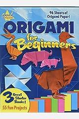 Origami Fun Kit for Beginners (Dover Fun Kits) Paperback