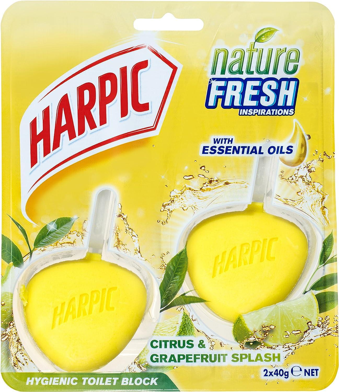 Harpic Hygienic Toilet Rim Block Twin pack