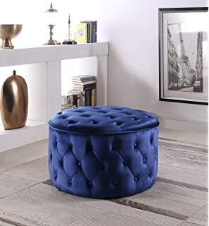 Amazon.com: windaze Accent Ottoman Chair Classic High Back ...