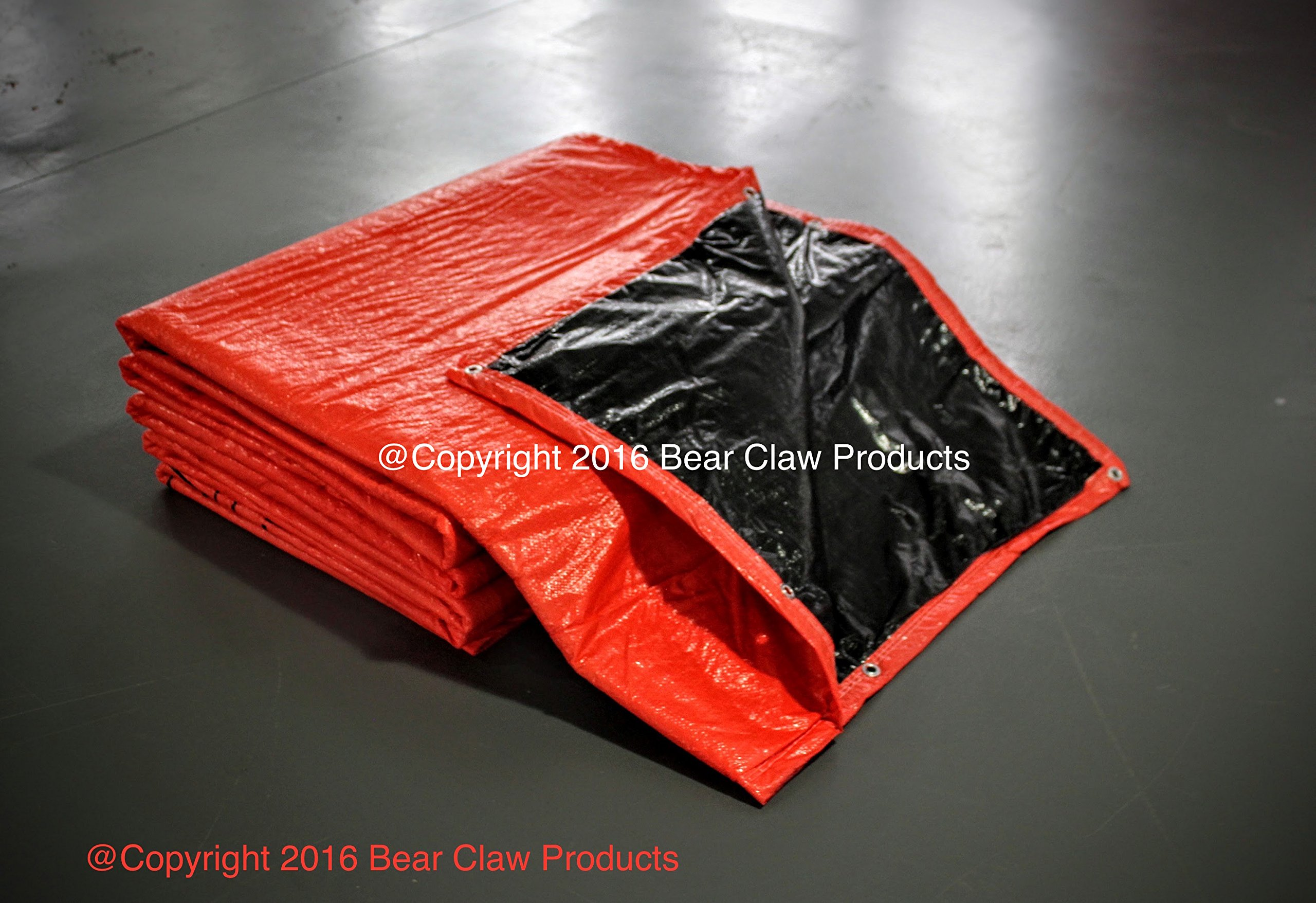 Bear Claw Products Concrete Curing Blankets - 6' X 25' -- PACK OF 3