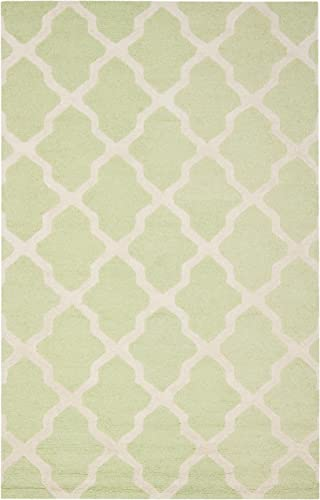 Safavieh Cambridge Light Green Ivory Runner Rug