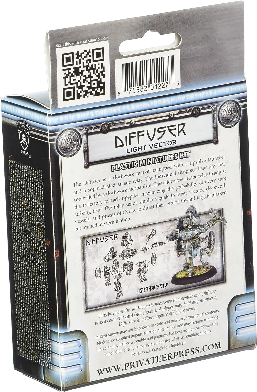 /Kriegsmaschine zu bekommen/ Diffusor Model Kit Privateer Press/ /Konvergenz