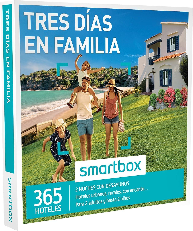 SMARTBOX - Caja Regalo - TRES DIAS EN FAMILIA - 365 hoteles rurales o urbanos en España y Andorra: Amazon.es: Deportes y aire libre