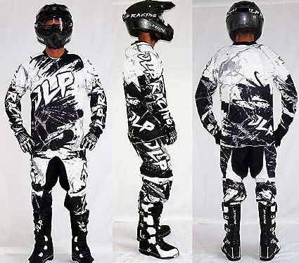 Jlp Racing Jlp Racing Conjunto De Pantalones Para Nino 10 12 Anos Para Motocross Quad Bicicleta De Montana Bmx Mtb Pantalon Blanco Talla 26us Xl Amazon Es Ropa Y Accesorios