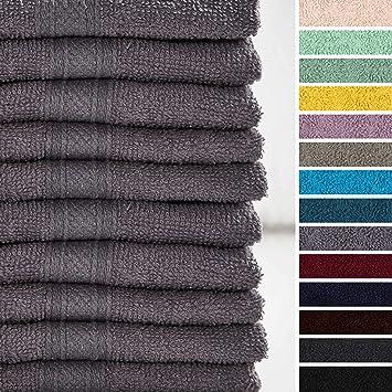 Tücher Gästetuch 30 x 50 cm Handtuch 50 x 100 cm Tücher 100% Baumwolle 500 g/m² Badzubehör & -textilien