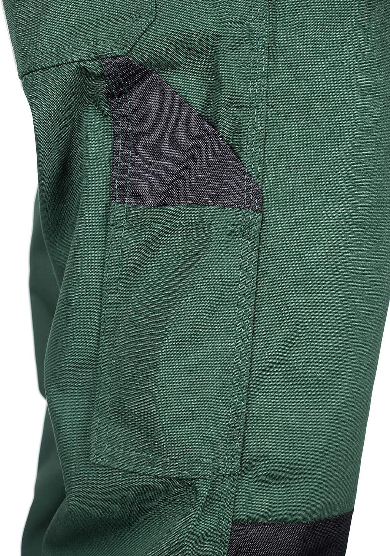 avec Genouill/ère Int/égr/ée Vert XS-7XL Pantalons de S/écurit/é V/êtements de Travail pour Les Jardiniers 46 TMG/®/Pantalon de Travail pour Hommes
