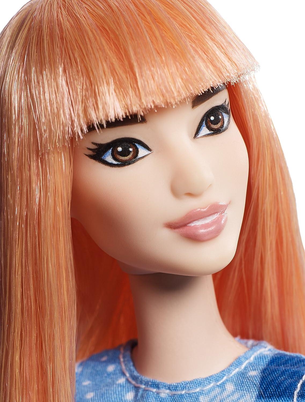 Barbie Fashionista, muñeca Vestido Tejano (Mattel DYY90): Amazon.es: Juguetes y juegos