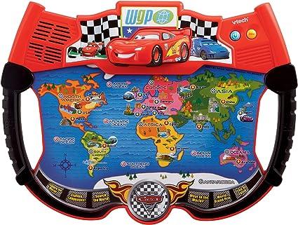 Amazon.com: VTech – Disney s Cars – Lightning Mcqueen Atlas ...