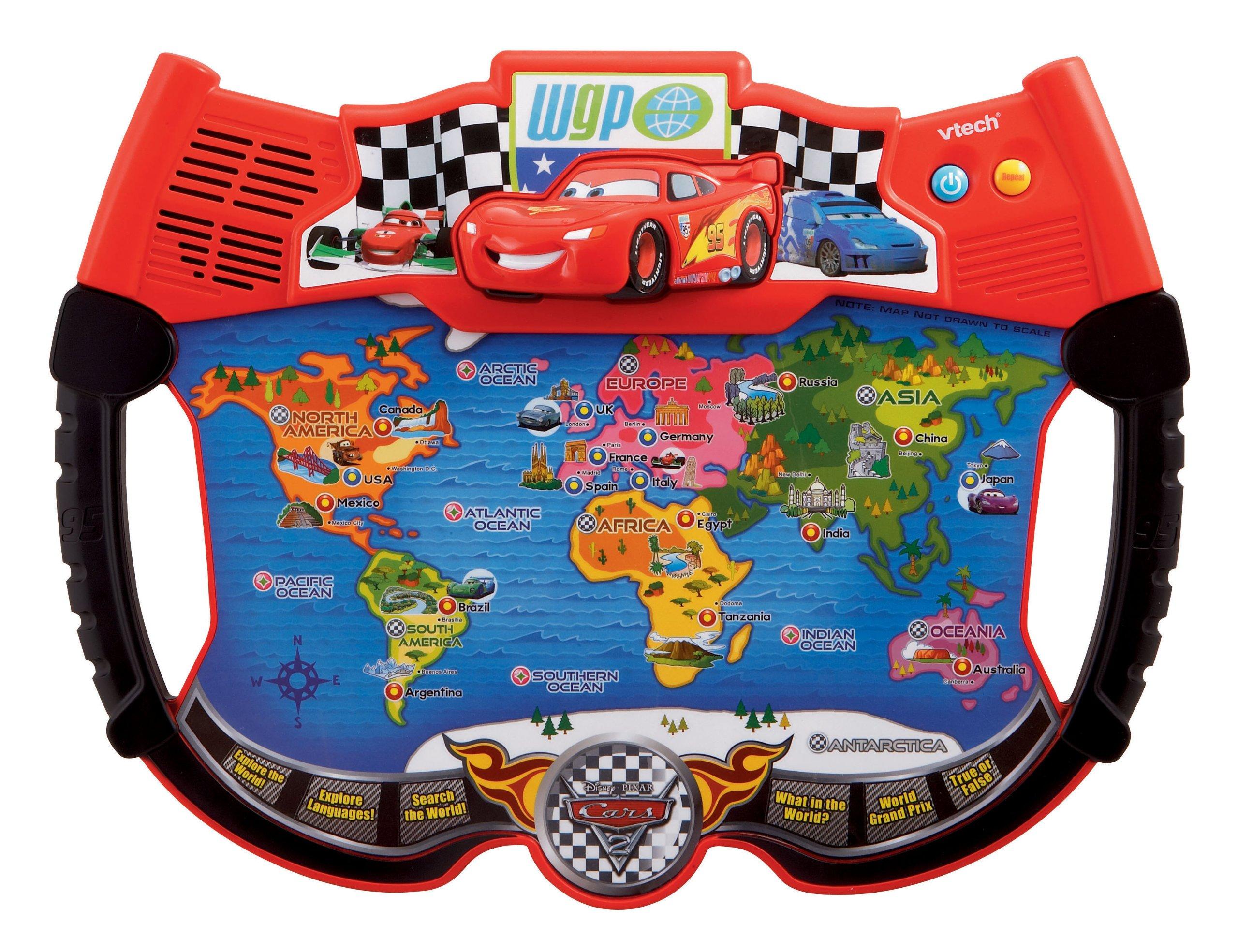 VTech - Disney's Cars - Lightning McQueen Atlas