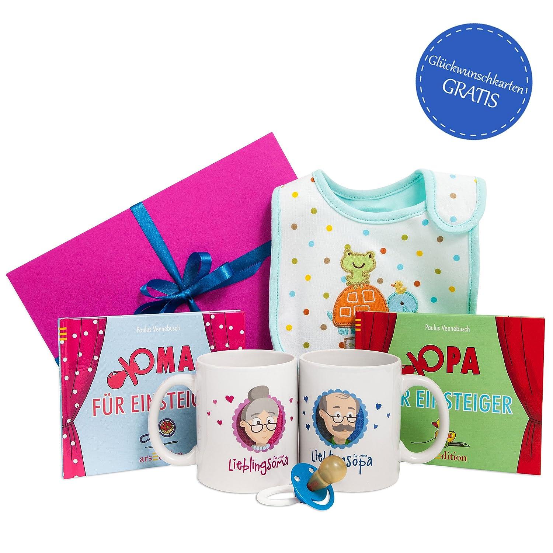 Oma Opa werden Geschenk Set * Oma Opa Geschenk * Geschenk für ...