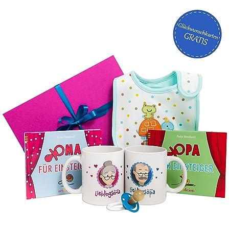 Oma Opa Werden Geschenk Set Oma Opa Geschenk Geschenk Für