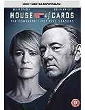 House of Cards - Season 1-5 [DVD] [2017]