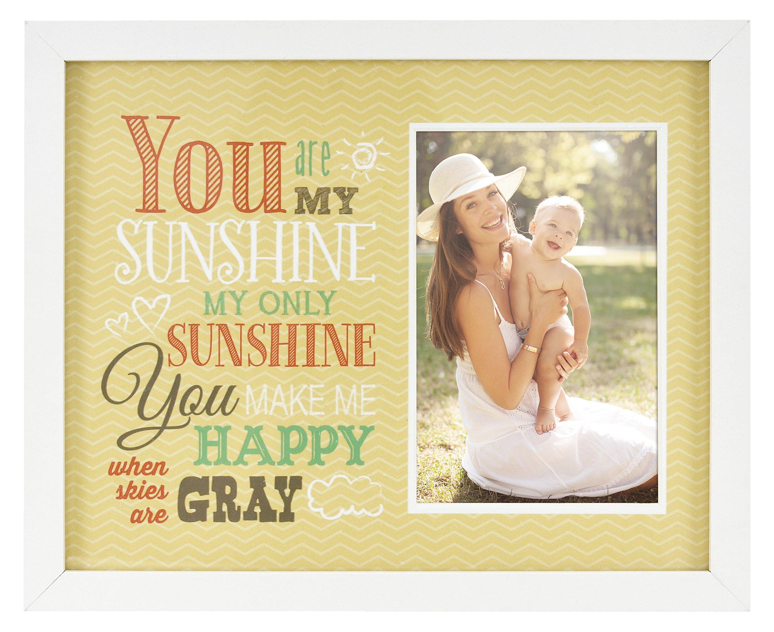 MCS Hello Sunshine Baby Frame with 4x6 Photo Opening
