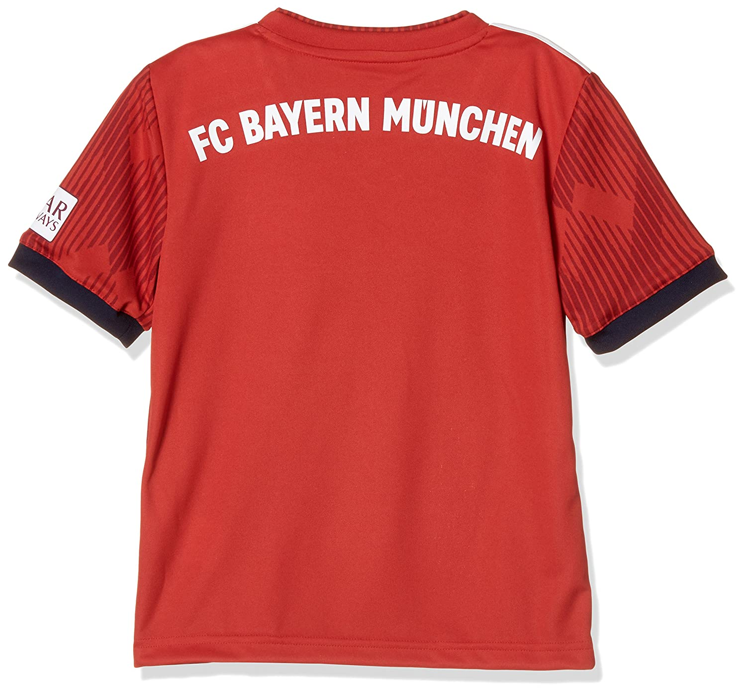 c99d1996e Amazon.com   adidas 2018-2019 Bayern Munich Home Shirt (Kids)   Sports    Outdoors