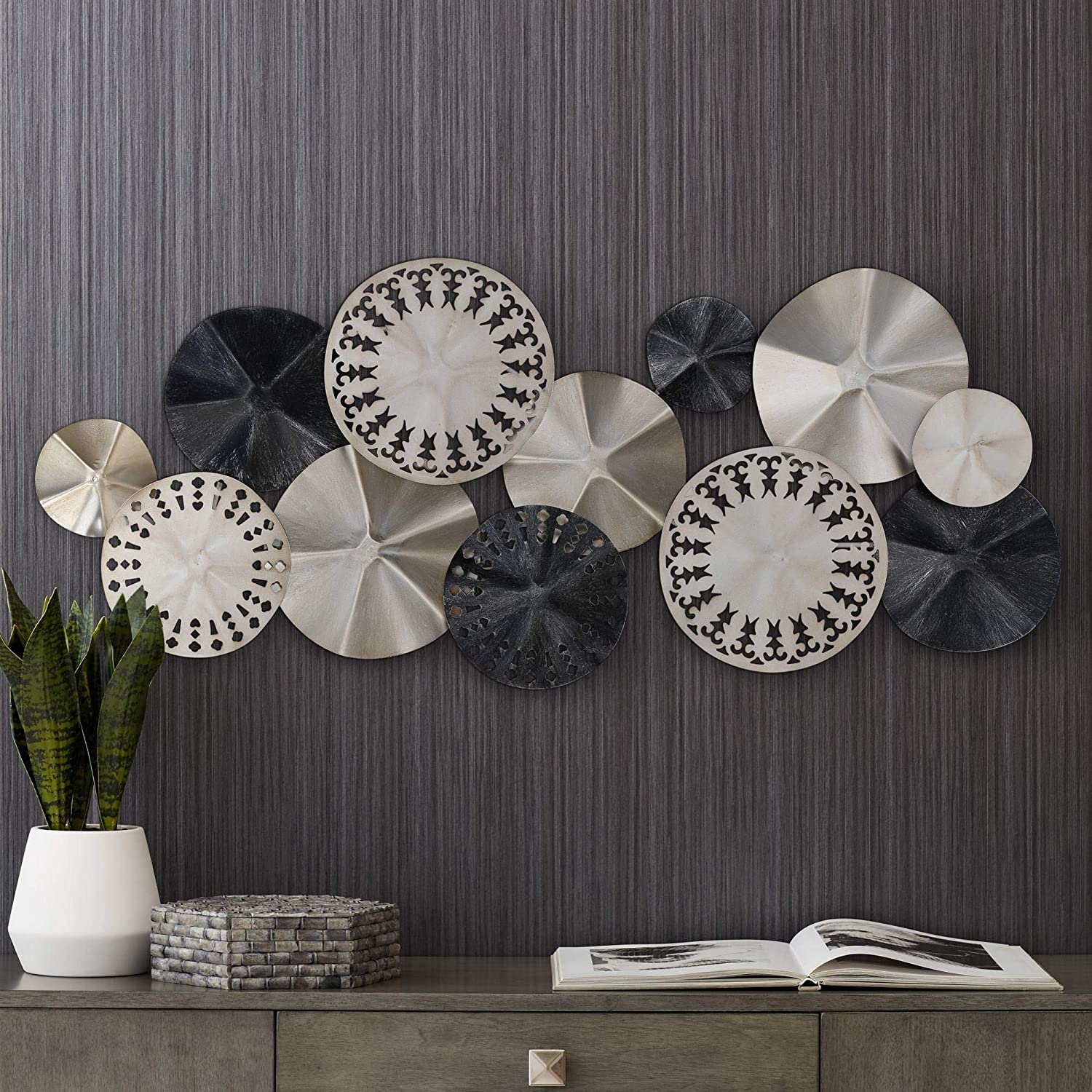 Newhill Designs Abstract Modern Discs 41 1/4
